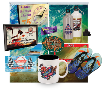 T-Byrd Graphics Sublimation Products