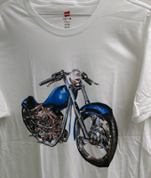 T-Byrd Graphics Motorcycle