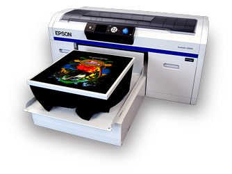 T-Byrd Graphics Epson F2000 (DTG) Direct to Garment Printer